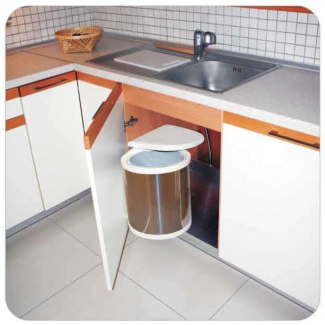 Кухонное ведро для мусора выдвижное своими руками